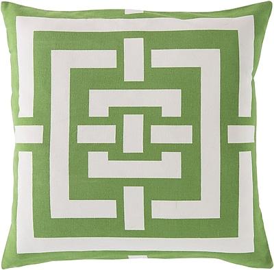 Surya FB004-2020D Circles & Squares 100% Cotton, 20