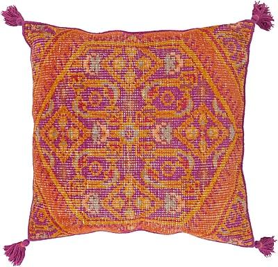 """Surya ZP003-3030P Zahra 100% Wool, 30"""" x 30"""" Polyfill"""