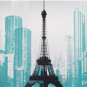 "Surya RWL3100-2020 20"" x 20"" Eiffel Tower"