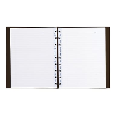 Blueline® - Cahier de notes MiracleBind™, 150 pages, 9 1/4 x 7 1/4, brun