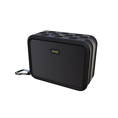 iHome Waterproof Bluetooth Stereo Speaker, Black