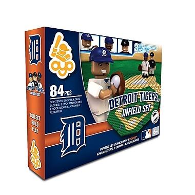 MLB – Ensemble de champ intérieur d'OYO Sportstoys, Tigers de Détroit