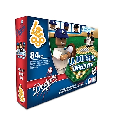 MLB OYO Sportstoys Infield Set, Los Angeles Dodgers