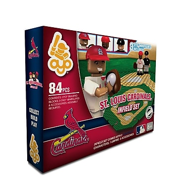 MLB OYO Sportstoys Infield Set, St. Louis Cardinals