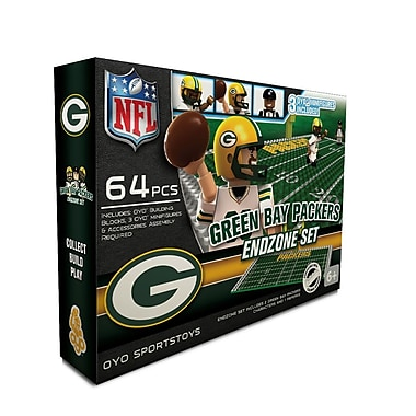 NFL OYO Sportstoys Endzone Set, Green Bay Packers