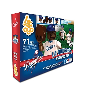 MLB OYO Sportstoys Outfield Set, Los Angeles Dodgers