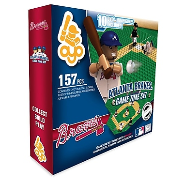 MLB OYO Sportstoys Game Time Set, Atlanta Braves