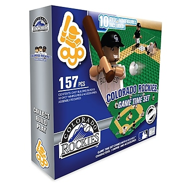 MLB OYO Sportstoys Game Time Set, Colorado Rockies