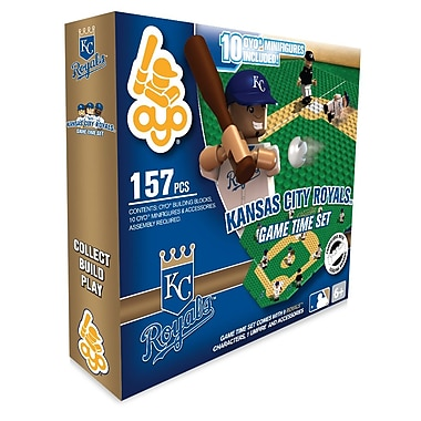 MLB OYO Sportstoys Game Time Set, Kansas City Royals
