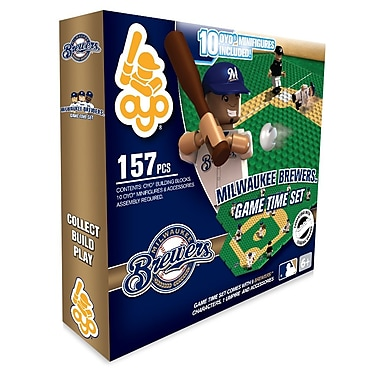 MLB OYO Sportstoys Game Time Set, Milwaukee Brewers