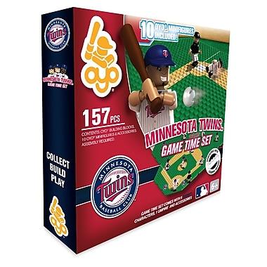 OYO Sports – Ensemble Game Time de la MLB, Twins du Minnesota
