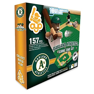 MLB OYO Sportstoys – Ensemble de temps de jeu, Athletics d'Oakland