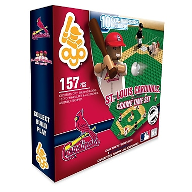 MLB OYO Sportstoys – Ensemble de temps de jeu, Cardinals de St. Louis