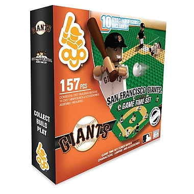MLB OYO Sportstoys – Ensemble de temps de jeu, Giants de San Francisco