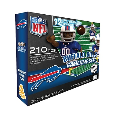 NFL OYO Sportstoys Gametime Set, Buffalo Bills