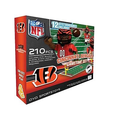 NFL OYO Sportstoys Gametime Set, Cincinnati Bengals