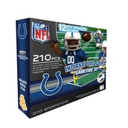 OYO Sports – Ensemble de terrain de football de la NFL, Indianapolis Colts