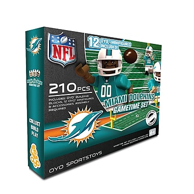 NFL OYO Sportstoys Gametime Set, Miami Dolphins