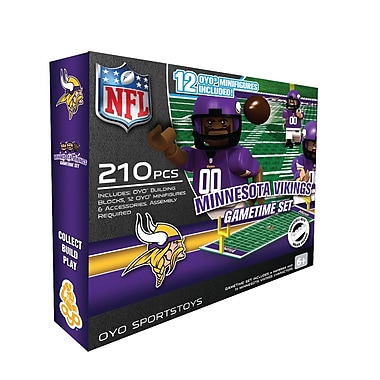 NFL OYO Sportstoys Gametime Set, Minnesota Vikings