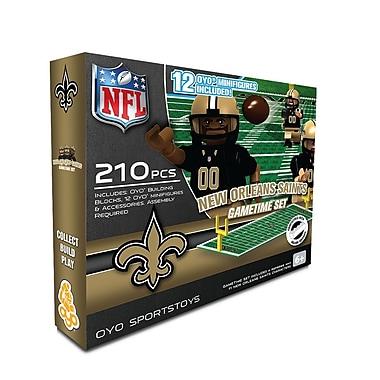 NFL OYO Sportstoys Gametime Set, New Orleans Saints