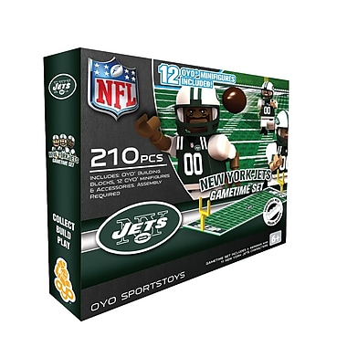 NFL – Ensemble Game Time de OYO Sportstoys, New York Jets