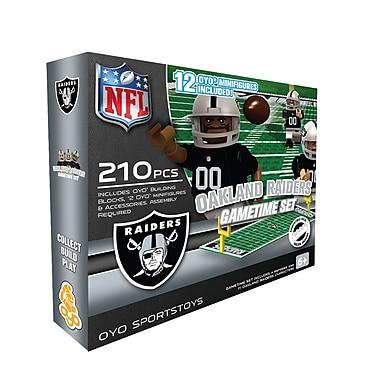 NFL OYO Sportstoys Gametime Set, Oakland Raiders