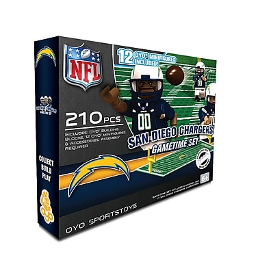 NFL OYO Sportstoys Gametime Set, San Diego Chargers