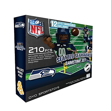 NFL OYO Sportstoys Gametime Set, Seattle Seahawks