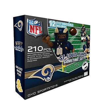 NFL OYO Sportstoys Gametime Set, St. Louis Rams