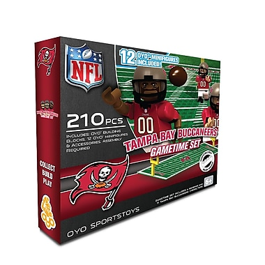 NFL OYO Sportstoys Gametime Set, Tampa Bay Buccaneers