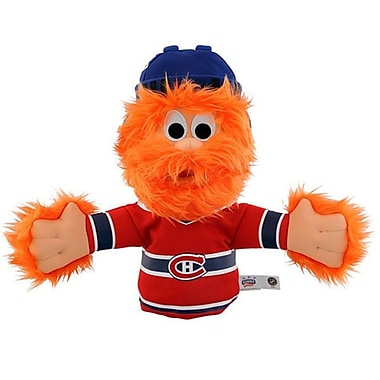 NHL Bleacher Creatures Mascot Hand Puppet, Montreal Canadiens, Youppi!