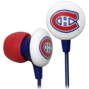 NHL iHip Slap Shot Earphones, Montreal Canadiens (IHPH10200MC)