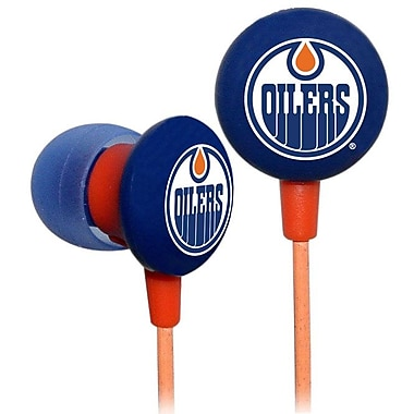 NHL iHip Slap Shot Earphones, Edmonton Oilers