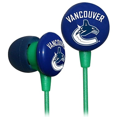 NHL iHip Slap Shot Earphones, Vancouver Canucks