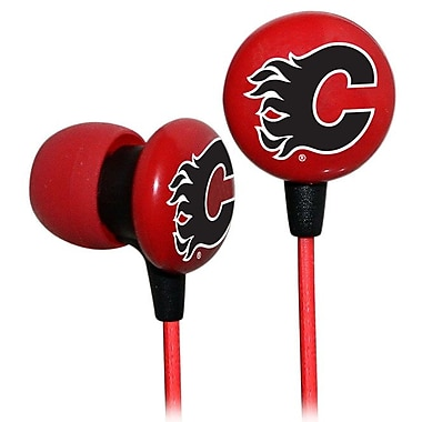 NHL iHip Slap Shot Earphones, Calgary Flames