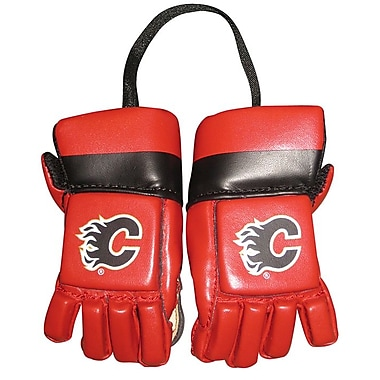 NHL Kloz Inc. Mini Gloves, Calgary Flames
