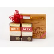 Brix Chocolate for Wine Lovers 2 Bar Cutting Board Set