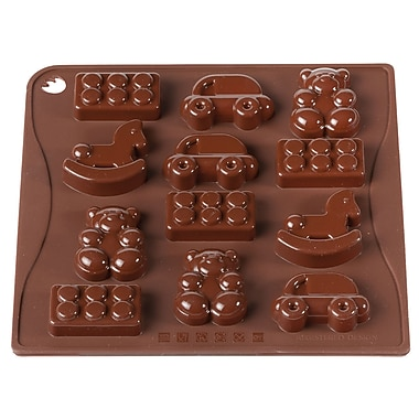 Pavoni Toys Platinum Silicone Bake Mould, 7.1