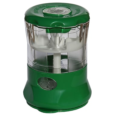 Fresh Mill Herb Grinder with Storage labels, Dark Green