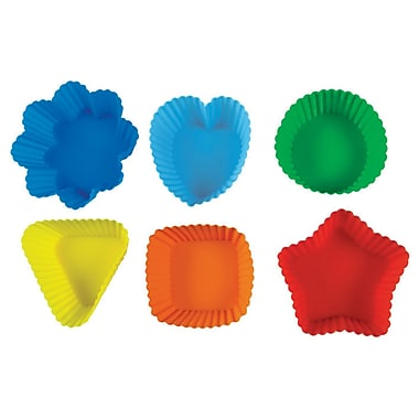 Pavoni Muffin Liners, Assorted Colours, Set of 6