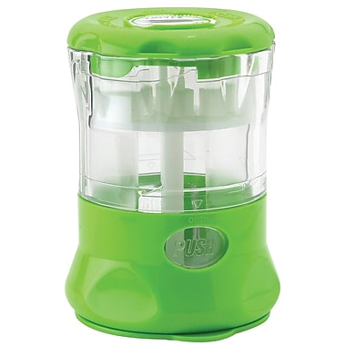 Fresh Mill Herb Grinder with Storage Labels, Light Green