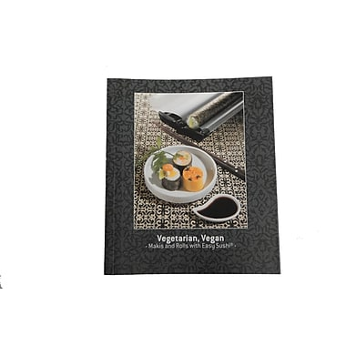 Easy Sushi Vegetarian/Vegan Recipe Book