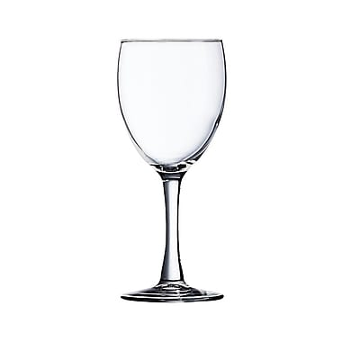 Arcoroc 71084 Excalibur 8.5 oz. Tall Wine Glasses, 36/Case