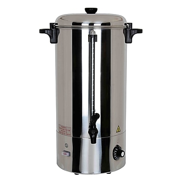 Boswell PU200 100 Cup Hot Water Boiler, Stainless Steel | Staples