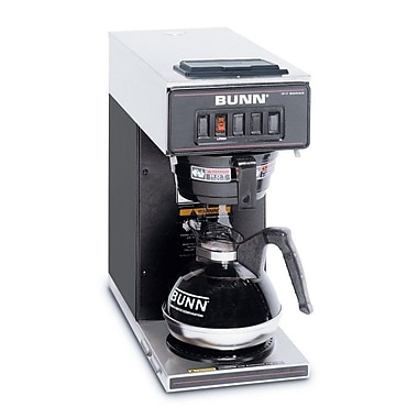 Bunn VP17-1 12 Cup Pourover Coffee Brewer, 1 Warmer