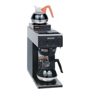 Bunn VP17-2 Cup Pourover Coffee Brewer, 2 Warmers