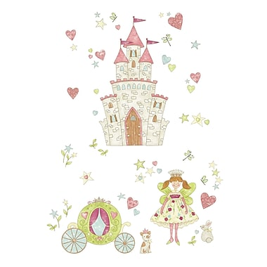 WALL POPS!MD – Super trousse d'art mural « Princess Fairyland », 59 autocollants