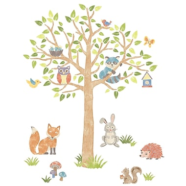 WALL POPS!® Super Wall Art Kit, Woodland Tree, 87 Stickers