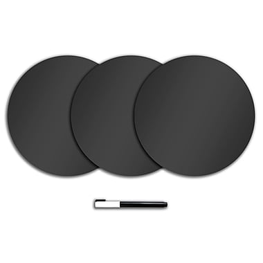 WALL POPS!® Dry-Erase Large Dots, Black