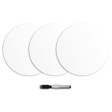 WALL POPS!® Dry-Erase Large Dots, White